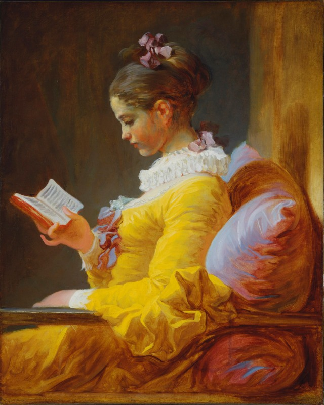 Fragonard - The Reader
